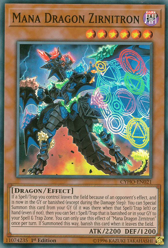 CYHO-EN021 Mana Dragon Zirnitron