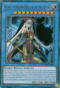 CYHO-EN029 Ruin, Supreme Queen of Oblivion