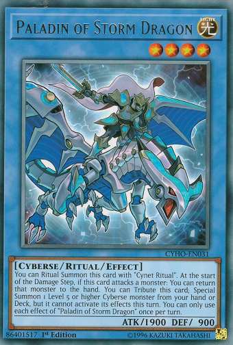 CYHO-EN031 Paladin of Storm Dragon