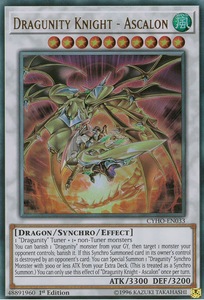 CYHO-EN033 Dragunity Knight - Ascalon