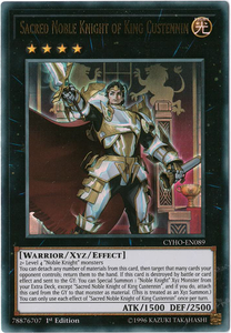 CYHO-EN089 Sacred Noble Knight of King Custennin