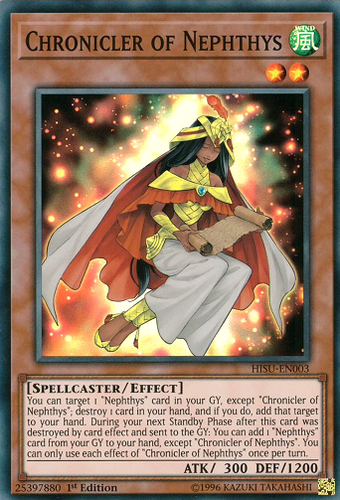 HISU-EN003 Chronicler of Nephthys