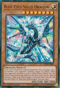 LED3-EN002 Blue-Eyes Solid Dragon