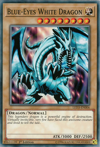 LED3-EN006 Blue-Eyes White Dragon