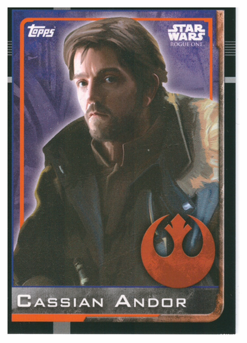 Cassian Andor Topps Star Wars Rogue One 038
