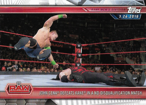 #033 John Cena Defeats Kane in a No-Disqualification Match WWE-CMP19-033