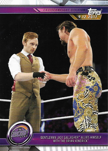 #040 Gentleman Jack Gallagher Allies Himself with The Brian Kendrick WWE-CMP19-040