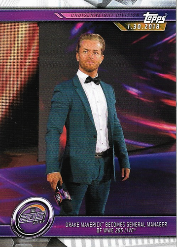 #047 Drake Maverick Becomes General Manager of WWE 205 Live WWE-CMP19-047