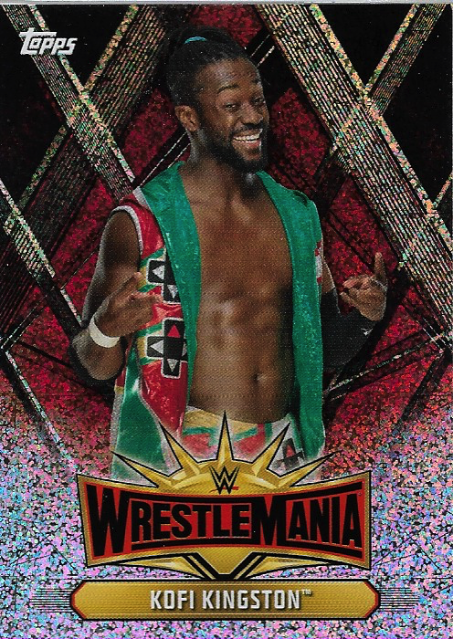 #WM-35 Kofi Kingston WWE-CMP19-WM35