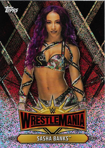 #WM-43 Sasha Banks WWE-CMP19-WM43