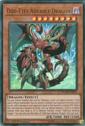DUPO-EN011 Odd-Eyes Advance Dragon