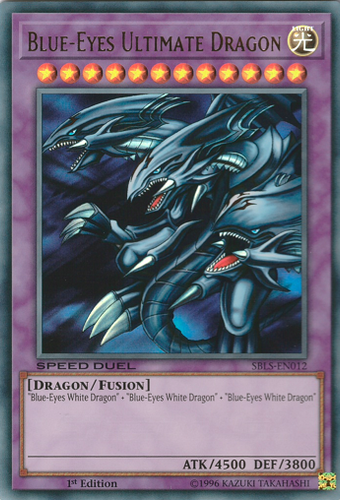 SBLS-EN012 Blue-Eyes Ultimate Dragon