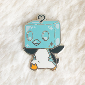 Ice Penguin Pin
