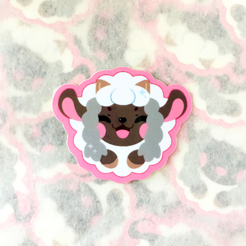 Happy Sheep Sticker