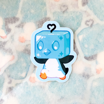 Jolly Penguin Sticker