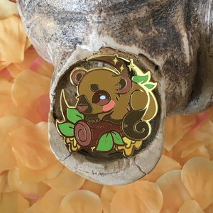 "Amazon Charity ""Kinkajou"" Enamel Pin"