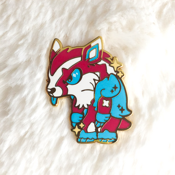 Shiny Badger Pin