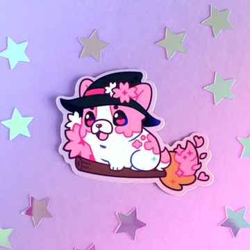 Witch Blossom Sticker