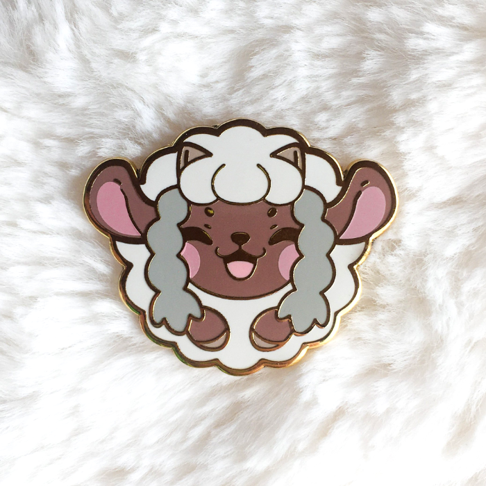 Happy Sheep Pin
