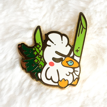 Sleeping Duck Pin