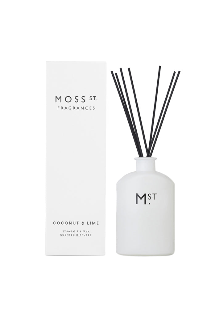MOSS ST FRAGRANCES - DIFFUSER - COCONUT & LIME - Tempted Kensington