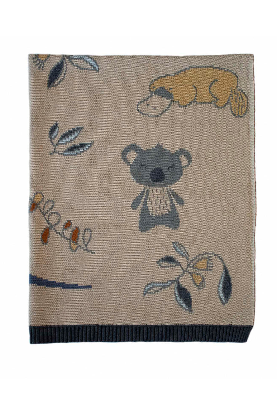 INDUS - BABY BLANKET - OUTBACK - Tempted Kensington
