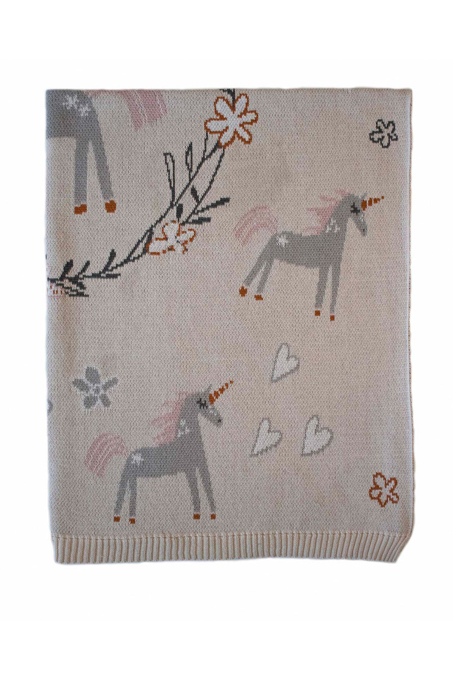 INDUS - BABY BLANKET - UNICORN - Tempted Kensington