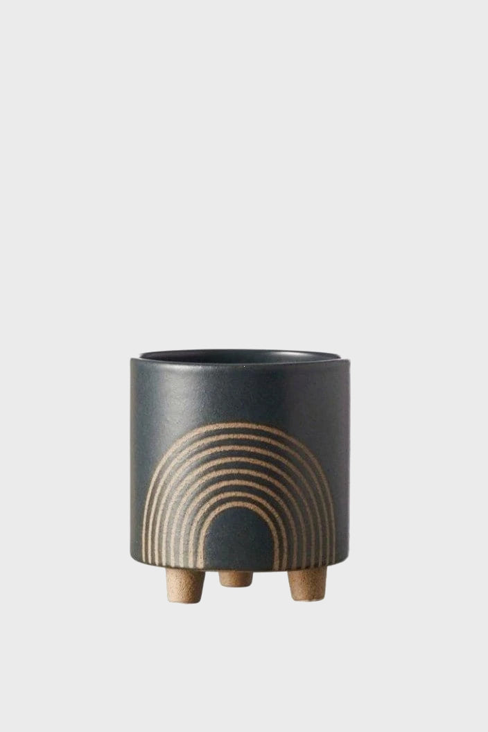 EVERGREEN COLLECTIVE - BIRCH POT - SMALL - SLATE - Tempted Kensington