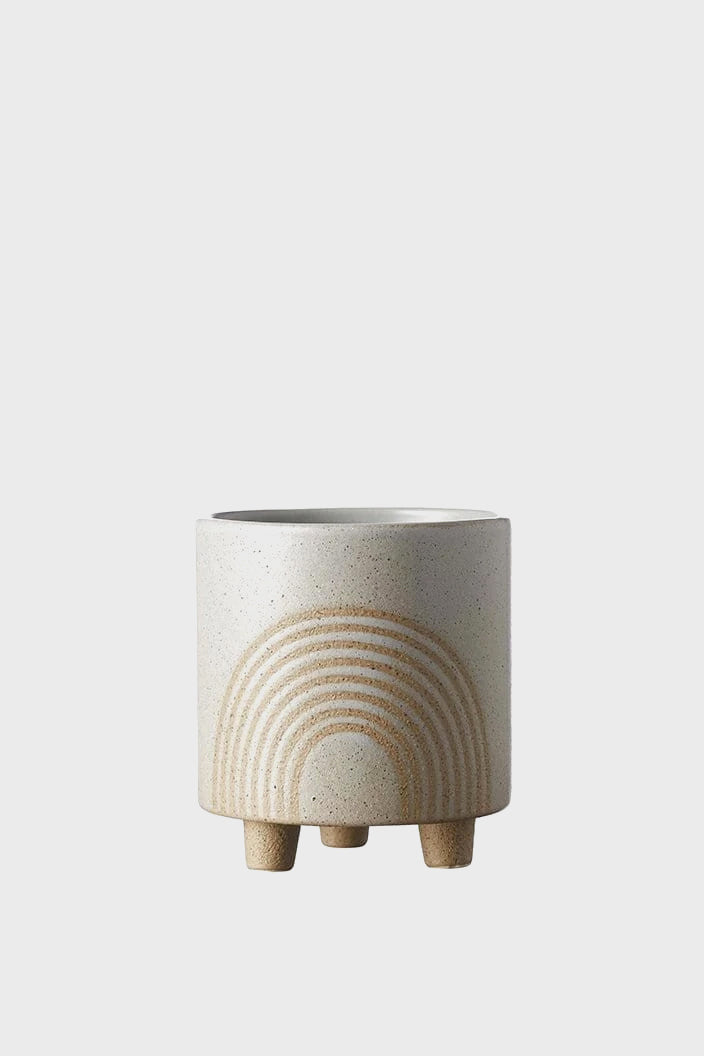 EVERGREEN COLLECTIVE - BIRCH POT - SMALL - FOG - Tempted Kensington