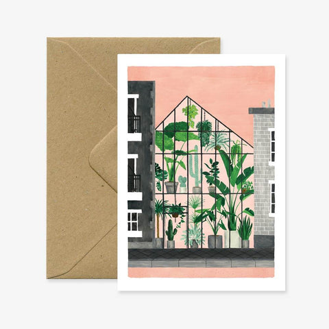 GREENHOUSE - GREETING CARD