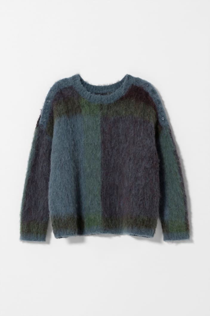 ELK THE LABEL - NILSEN SWEATER - MULTI - Tempted Kensington