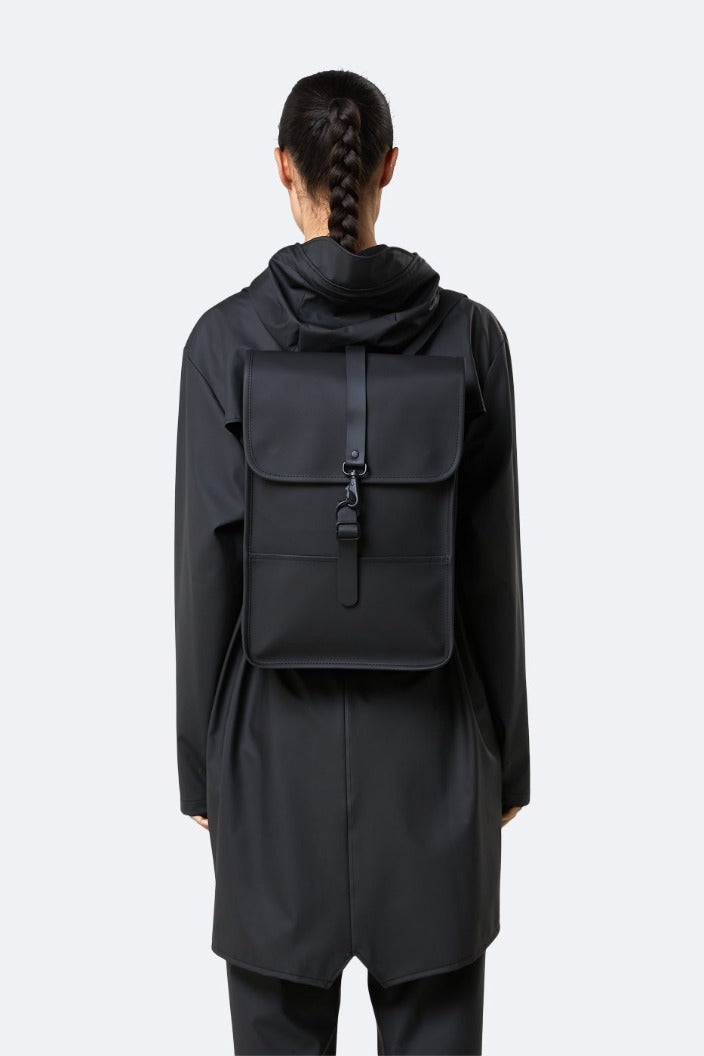 RAINS - BACKPACK MINI - BLACK - Tempted Kensington