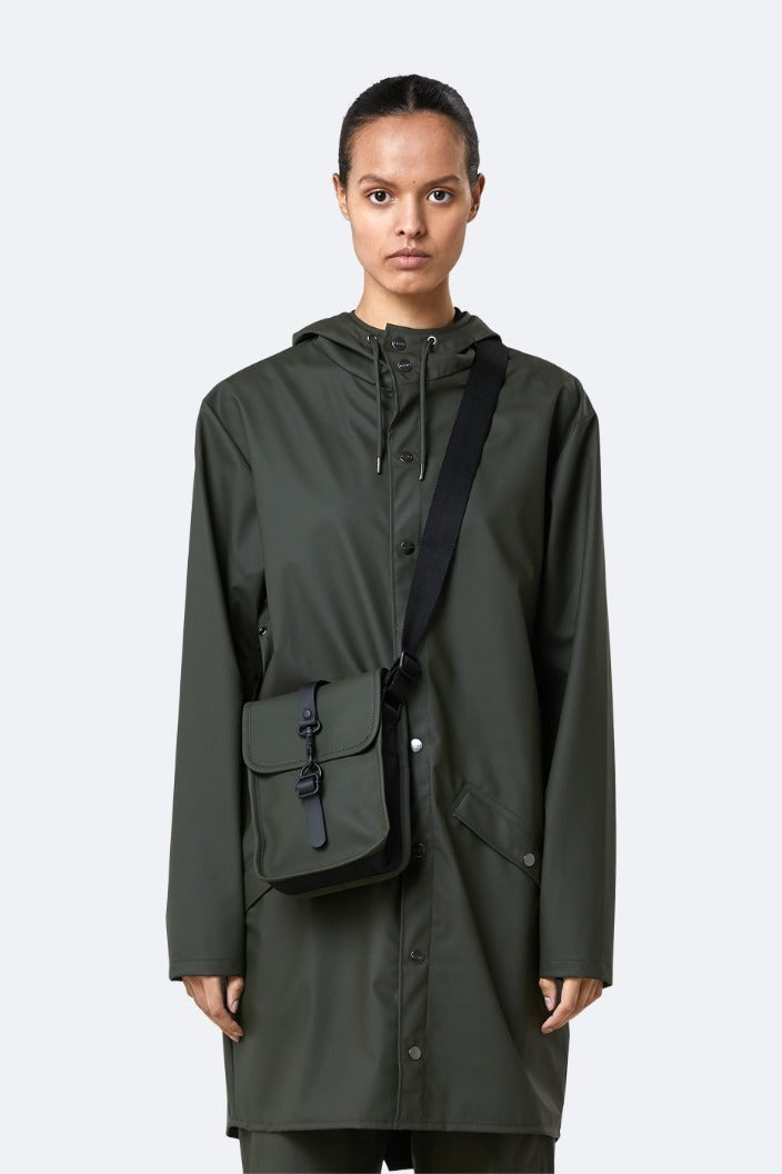 RAINS - FLIGHT BAG - GREEN - Tempted Kensington