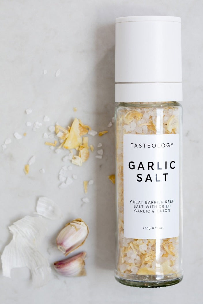 TASTEOLOGY - GREAT BARRIER REEF GARLIC SALT -Tempted Kensington-Tempted Kensington
