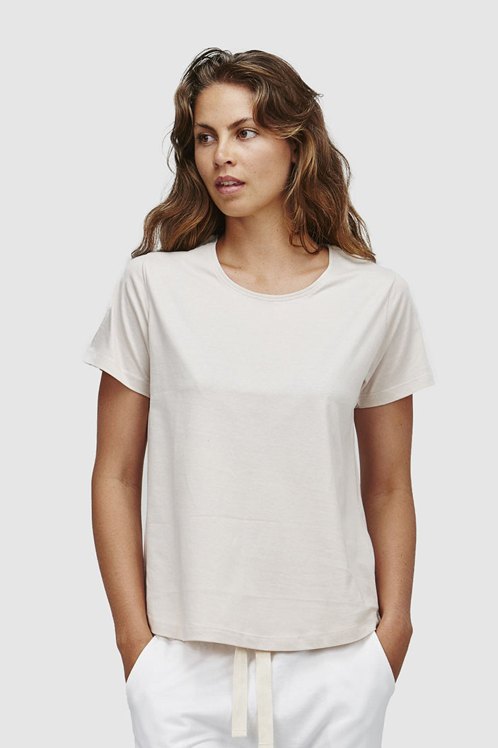 CLOTH & CO - CREW NECK T-SHIRT