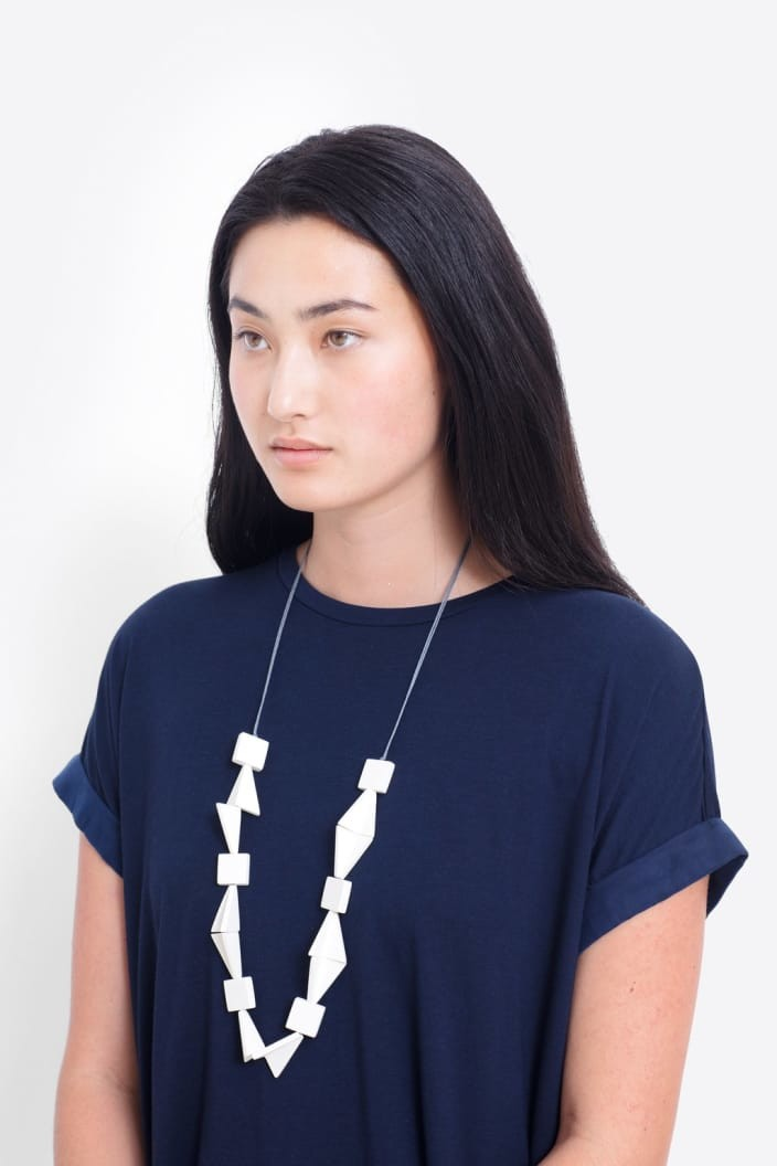 ELK THE LABEL - JOHNA NECKLACE - WHITE - Tempted Kensington
