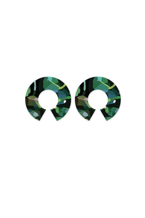 MOE MOE - JUNGLE KIMMY BIG HALO STUD EARRINGS