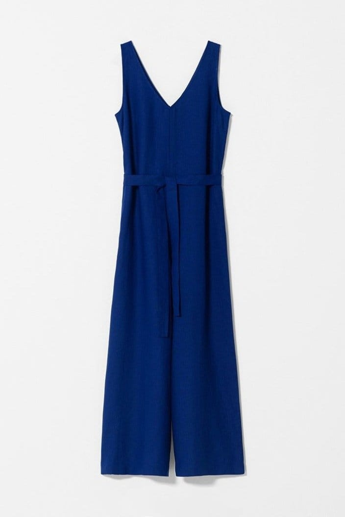 ELK THE LABEL - HALLVI JUMPSUIT - COBALT - Tempted Kensington