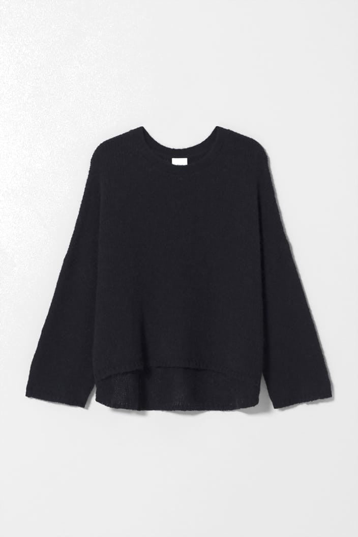 ELK THE LABEL - AGNA SWEATER - BLACK - Tempted Kensington