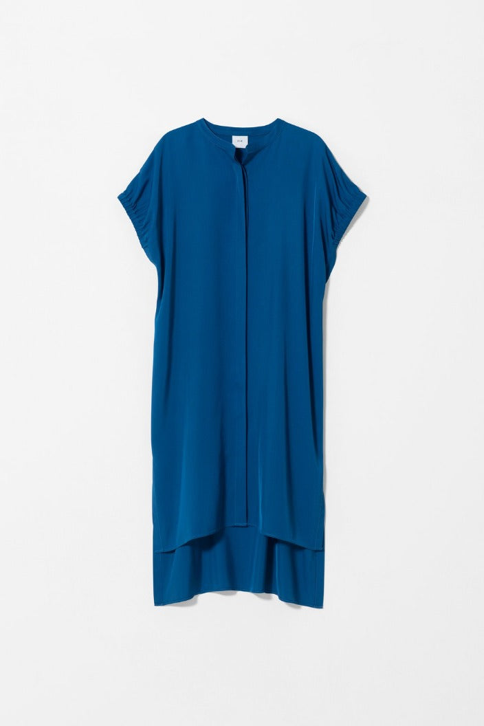 ELK THE LABEL - BILDS SHIRT DRESS - SAPPHIRE - Tempted Kensington