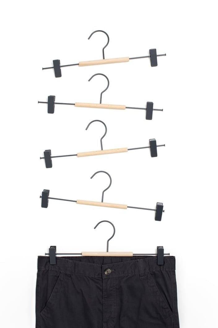 MUSTARD MADE - CLIP HANGER ADULT - PACK OF 5 - SLATE - Tempted Kensington