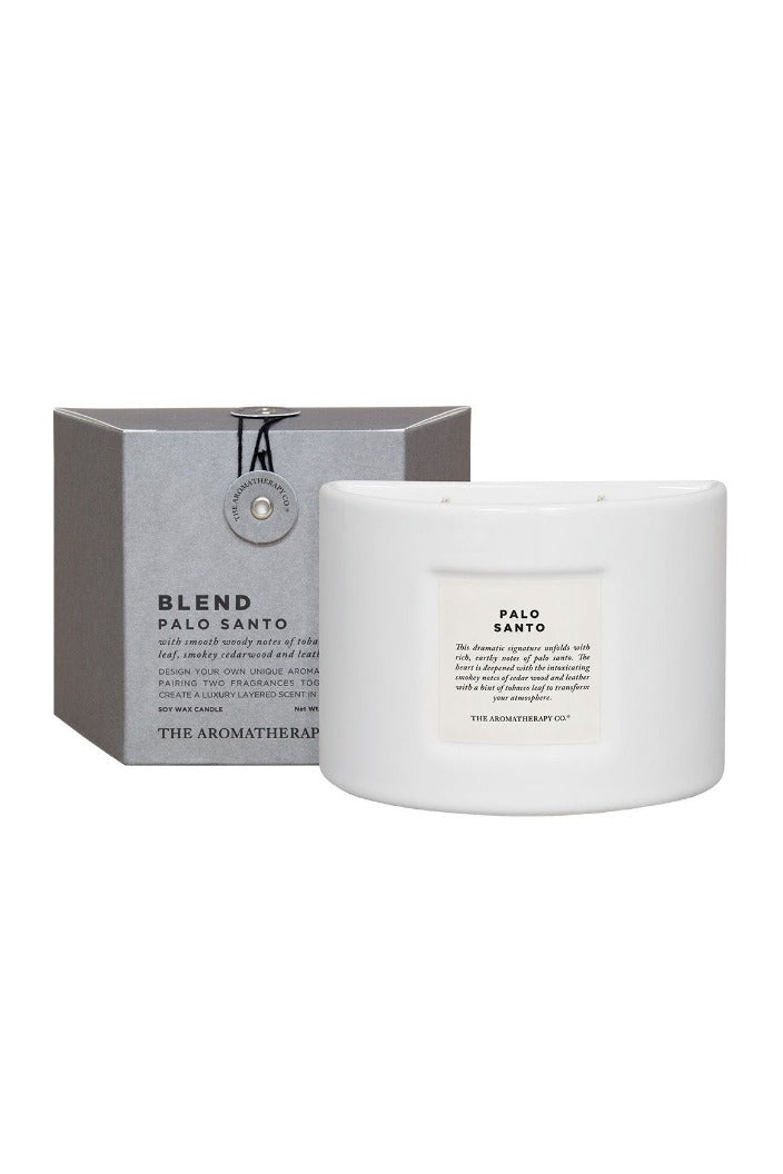 AROMATHERAPY CO - BLEND CANDLE - 280G - PALO SANTO - Tempted Kensington