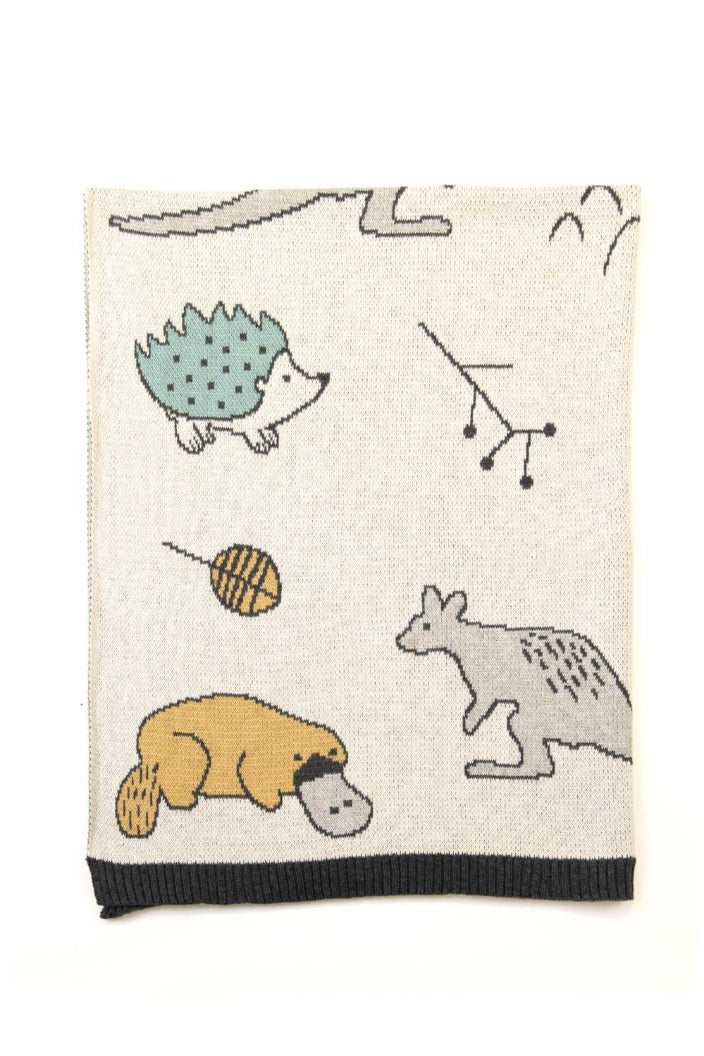 INDUS - BABY BLANKET - OUTBACK FAMILY - Tempted Kensington