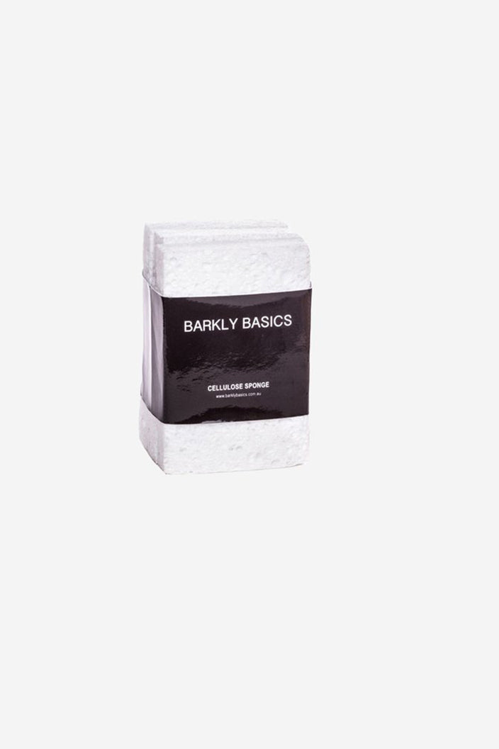BARKLY BASICS - CELLULOSE SPONGES (3 PACK) - WHITE - Tempted Kensington