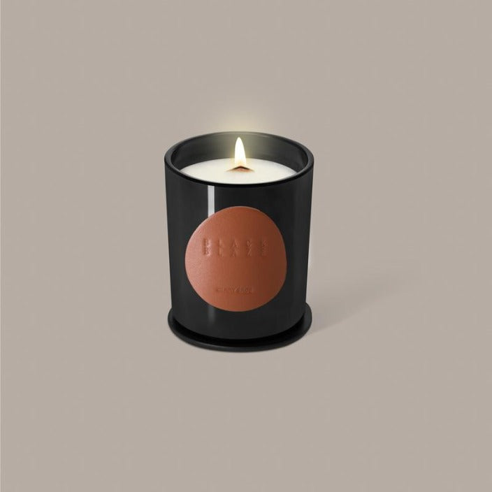 BLACK BLAZE - CANDLE - CLARY SAGE - Tempted Kensington