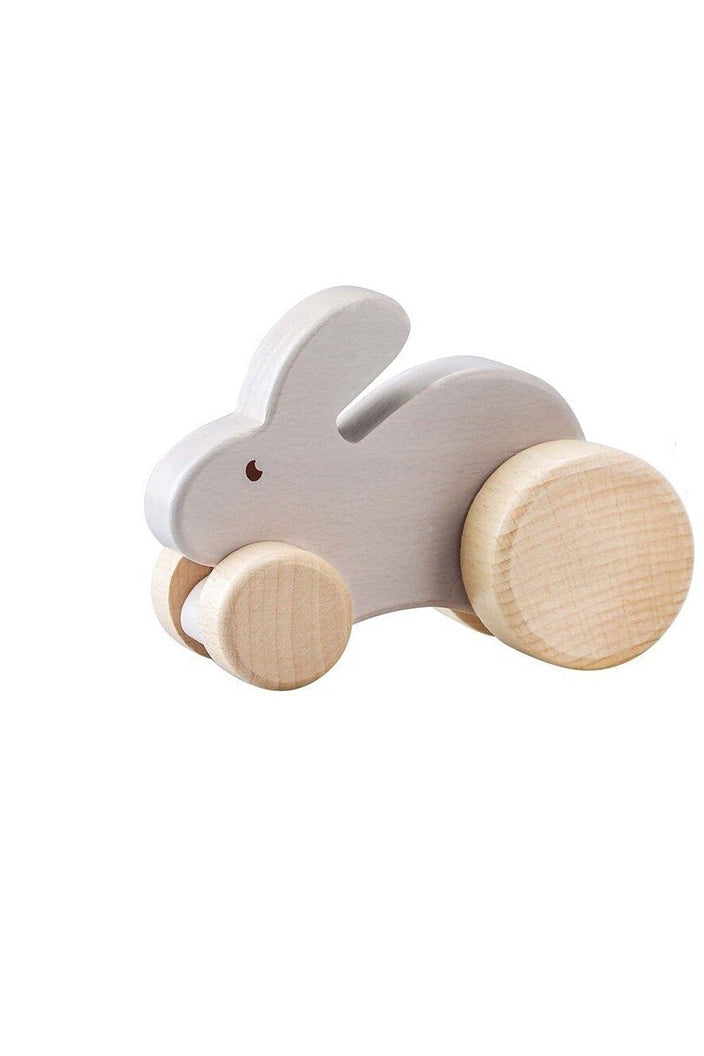 CALM & BREEZY WOODEN ANIMAL CAR - RABBIT - Tempted Kensington