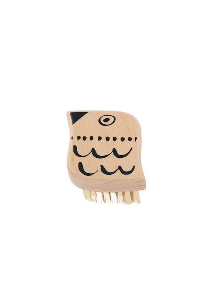 CASA - ANIMAL BRUSH - BLACK & NATURAL - BIRD - Tempted Kensington