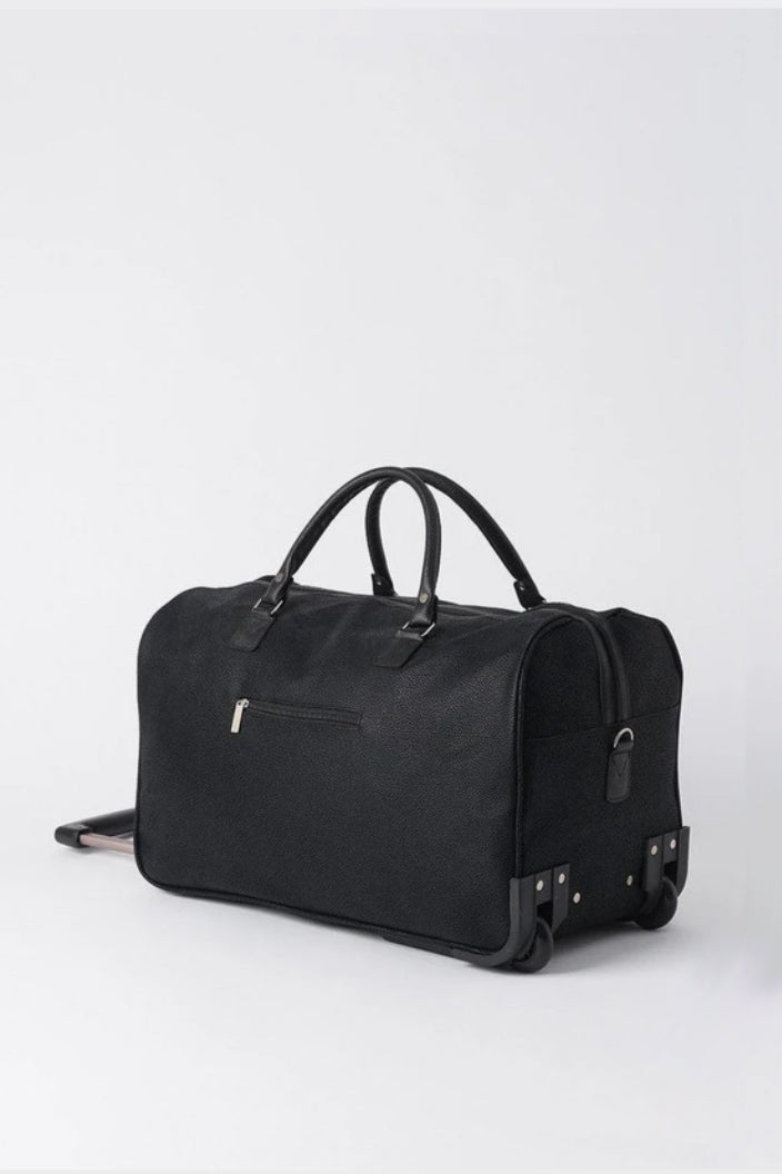 CITTA - ANGOLA TROLLEY BAG - BLACK - Tempted Kensington