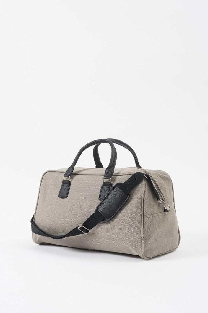 CITTA - CANVAS TRAVEL BAG - GREY