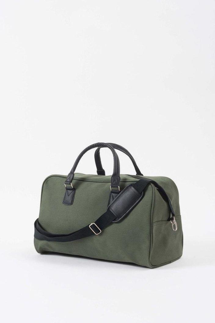 CITTA - CANVAS TRAVEL BAG - OLIVE